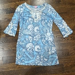 Lilly Pulitzer Sarah Beaded Tunic Dress Small